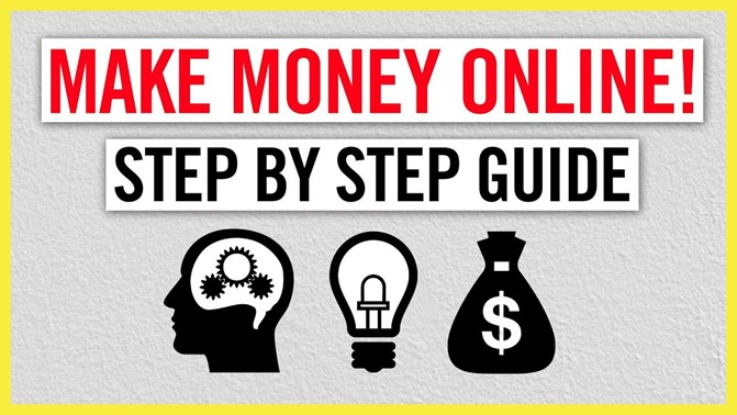how to make money online step by step